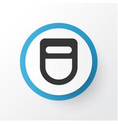 Welding helmet icon symbol premium quality vector