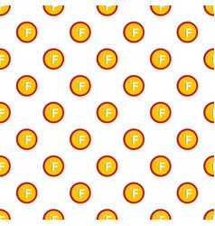 Fahrenheit pattern seamless vector