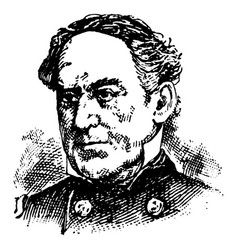 David glasgow farragut vintage vector