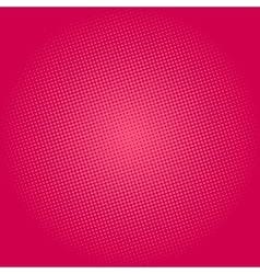 Dots on Pink Background Pop Art Background vector image
