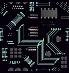 Information industry vector