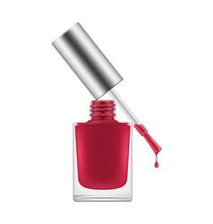 Nail polish realistic vector