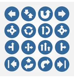 Set of Arrows Icons vector image
