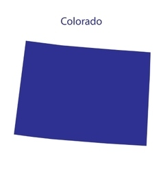 United States Colorado vector image