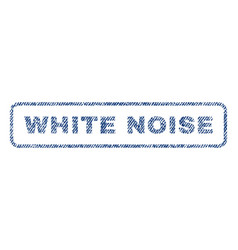 White noise textile stamp vector