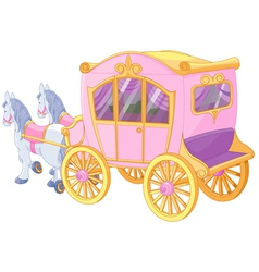 Princess Carriage vector image vector image