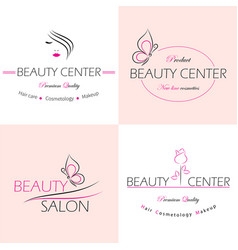 set of logo templates labels and badges vector image vector image