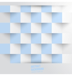 Abstract background Square white blue vector