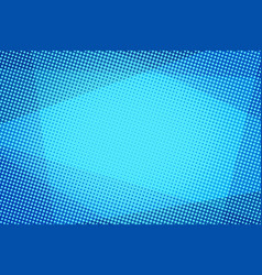 blue halftone abstract background vector image