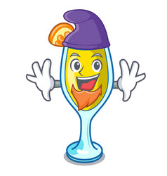 Elf mimosa character cartoon style vector