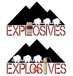 Explosives vector