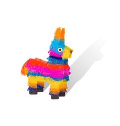 Funny colorful character pinata vector