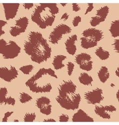 Leopard print pattern Repeating background vector