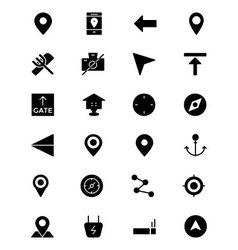 Map and Navigation Icons 1 vector