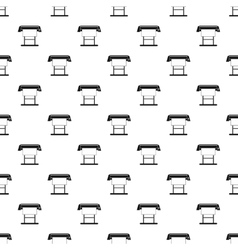 Platen for printing machines pattern simple style vector