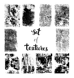 Set of texture vector