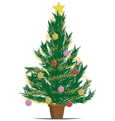 Xmas tree vector