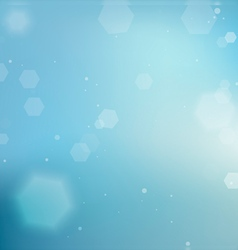 Background with Clear Blue Skies vector image vector image