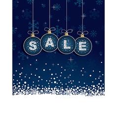 Blue sale tags vector