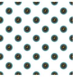 clock pattern seamless vector image