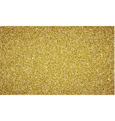 Gold glitter background texture vector