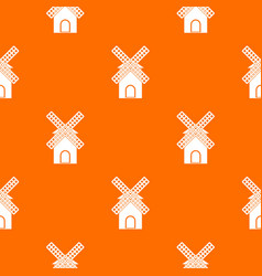 mill pattern seamless vector image
