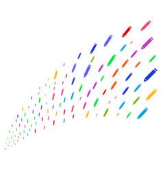 source stream of edit pencil vector image