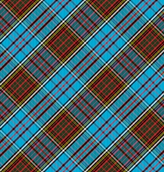 Tartan Clan Anderson diagonal seamless pattern vector