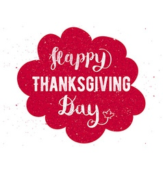 Thanksgiving greeting card happy thanksgiving day vector