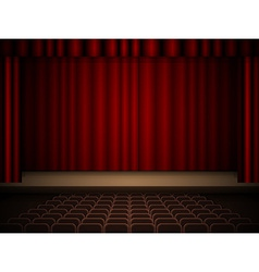 Theater interior vector