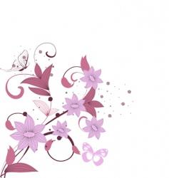 pattern burgundy vector image vector image