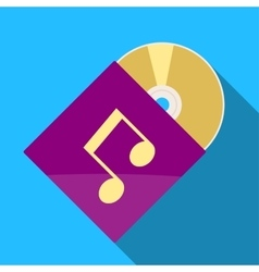 CD icon vector image vector image