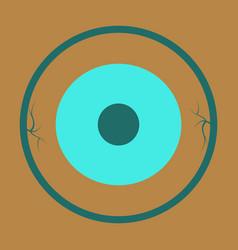 Circle neuron art neuron logo template creative vector