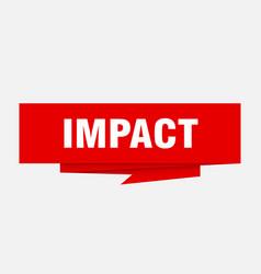 Impact vector