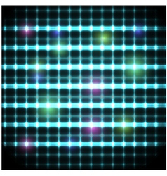 Modern background with neon grate eps10 vector image vector image