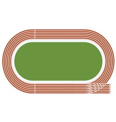 Olympic stadium vector image