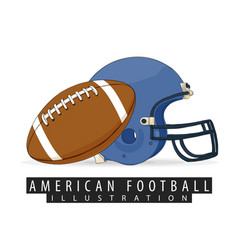 Outfit for american football vector