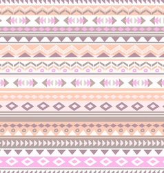 pastel tribal stripe vector image