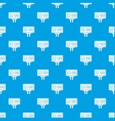 Scoreboard pattern seamless blue vector