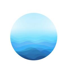 Sea ball vector