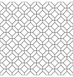Simple seamless rhombus pattern vector image vector image