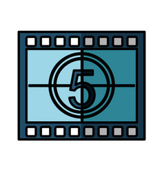 tape record isolated icon vector image