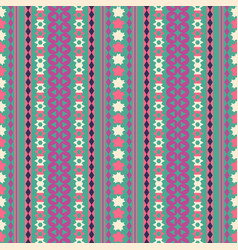tribal texture geometric seamless pattern vector image