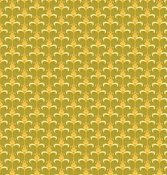 pattern yellow Retro abstract vector image vector image