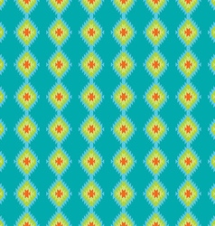 Mexican folkloric tracery textile seamless pattern vector