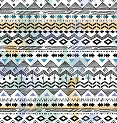 tribal sketch background vector image vector image