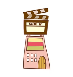 A cinema vector