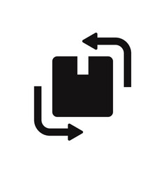 change box icon vector image