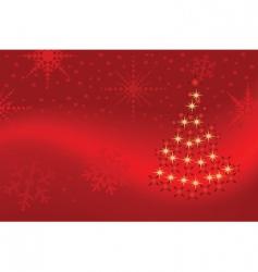 Christmas tree pattern vector
