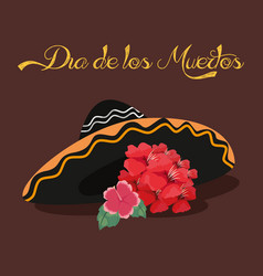 Day of the dead celebration vector